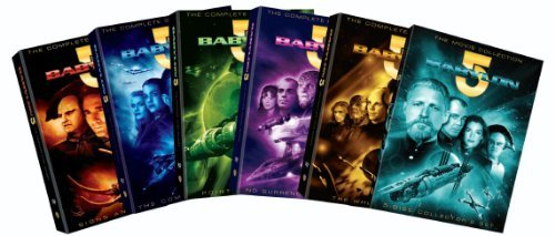 Babylon 5 Complete Series & Movies DVD 12 Discs