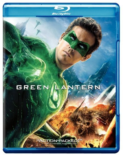 Green Lantern (2011) Reynolds Lively Sarsgaard Blu Ray Movie Only Edition + Ultraviolet Digital C