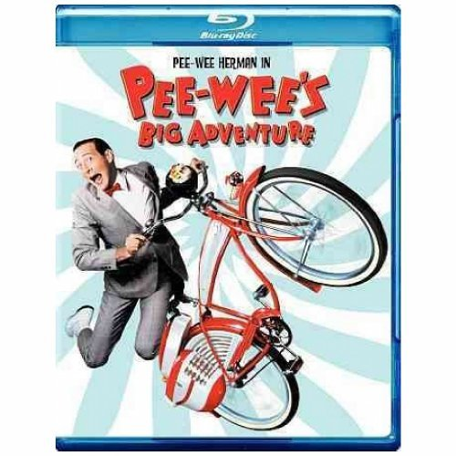 Pee Wee's Big Adventure Reubens Daily Holton Salinger Blu Ray Ws Pg
