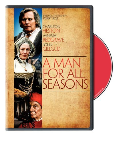 Man For All Seasons (1988) Heston Redgrave Ws Nr