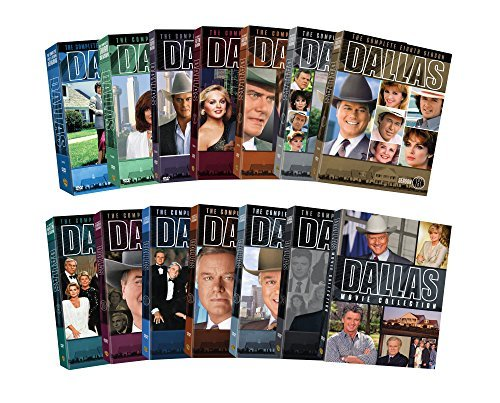 Dallas Complete Collection DVD Series + Movies