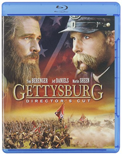 Gettysburg Berenger Daniels Sheen Lang Blu Ray Director's Cut