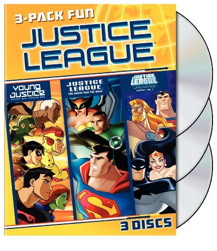 Justice League 3 Pack Fun Justice League 3 Pack Fun Ws Nr 3 DVD