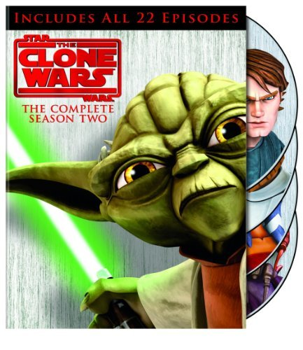 Star Wars Clone Wars Season 2 DVD Nr