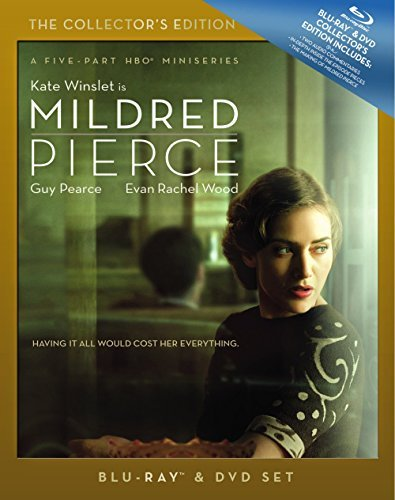 Mildred Pierce (2011) Winslet Wood Pearce Ws Blu Ray Coll. Ed. Tvma 3 Br Incl. DVD