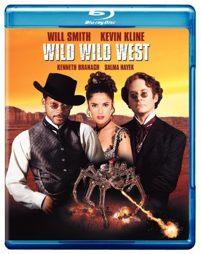 Wild Wild West Smith Kline Branagh Blu Ray Ws Pg13