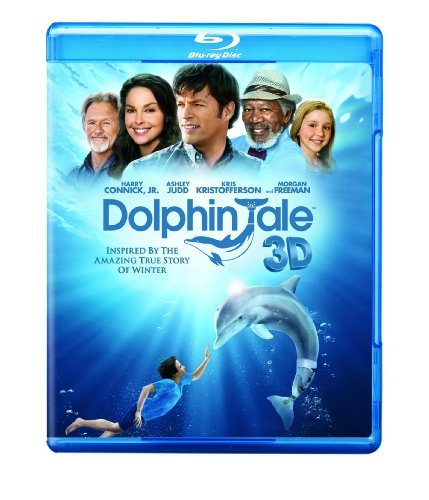 Dolphin Tale 3d Connick Judd Kristofferson Blu Ray Ws 3d Pg Incl. DVD Dc