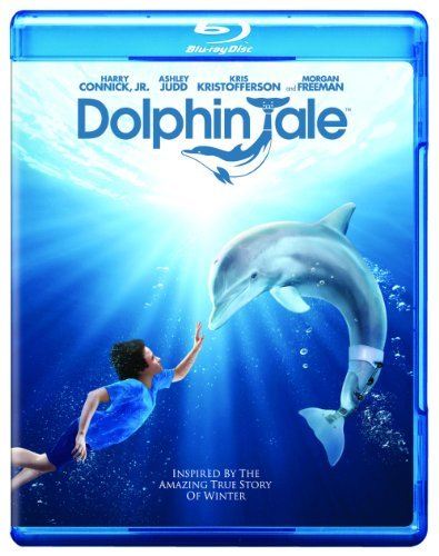 Dolphin Tale Connick Judd Kristofferson Blu Ray Movie Only Edition + Ultraviolet Digital C