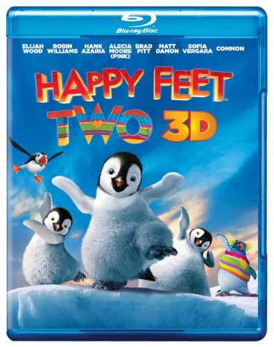 Happy Feet Two 2d 3d Happy Feet Two 2d 3d Blu Ray Ws 3d Pg 2 Br Incl. DVD Dc
