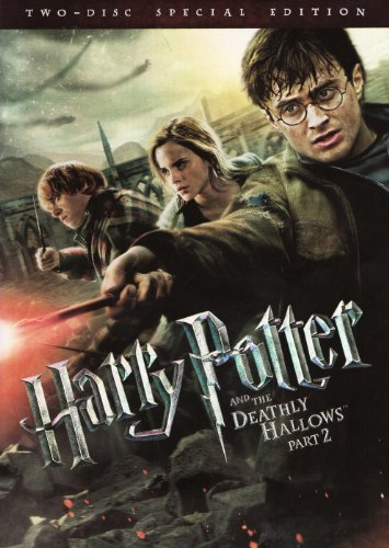 Part 2 Harry Potter & The Deathly Hallows Radcliffe Grint Watson 2 Disc Special Edition