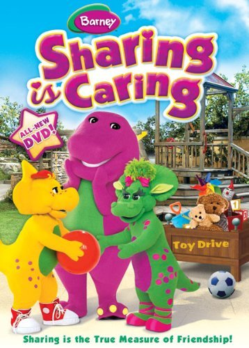 Barney Sharing Is Caring Nr