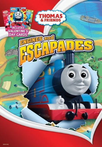 Thomas & Friends Engines & Escapades Valentines Day Faceplate & Car Nr