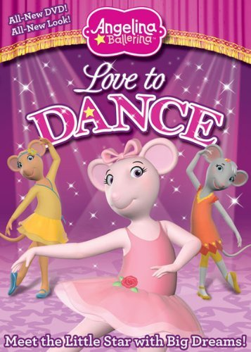 Love To Dance Angelina Ballerina Nr