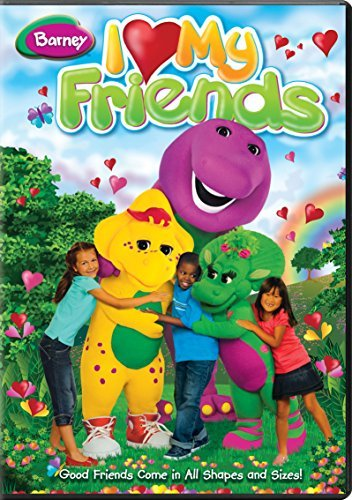 I Love My Friends Barney Nr