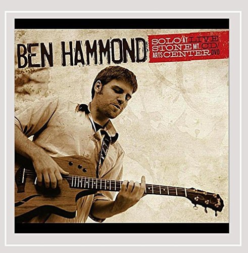 Ben Hammond Solo At Stone Mt. Arts Center Live CD DVD Local