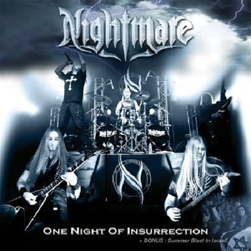 Nightmare One Night Of Insurrection Import Eu Incl. DVD