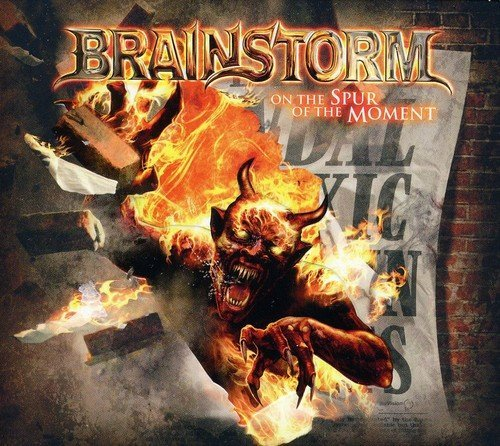 Brainstorm On The Spur Of The Moment (ltd Import Gbr 2 CD
