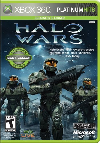 Xbox 360 Halo Wars (platinum) Microsoft Corporation T