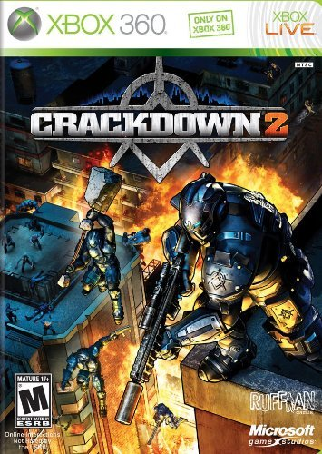 Xbox 360 Crackdown 2 Microsoft Corporation M
