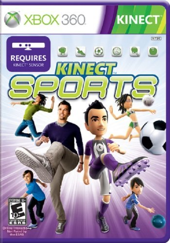 Xbox 360 Kinect Kinect Sports Microsoft Corporation E10+