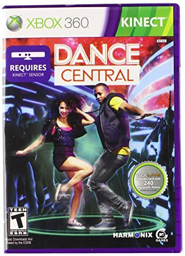 Xbox 360 Kinect Dance Central (with 240 Points Microsoft Corporation T