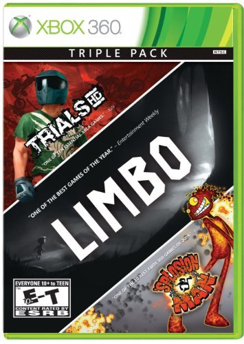 Xbox 360 Limbo Trials Hd Splosion Man 3 Pack