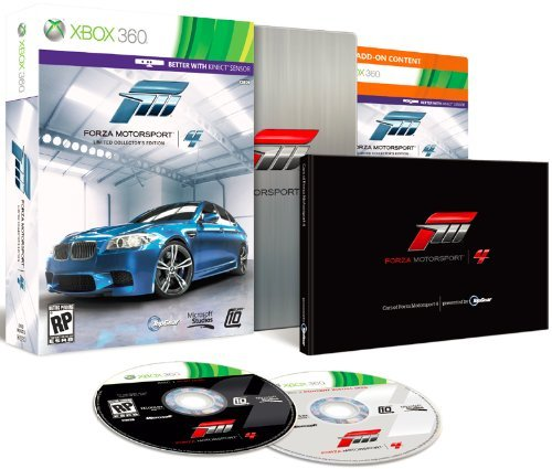 Xbox 360 Forza Motorsport 4 Collector's Edition