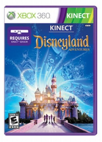 Xbox 360 Kinect Disneyland Adventure Microsoft Corporation E