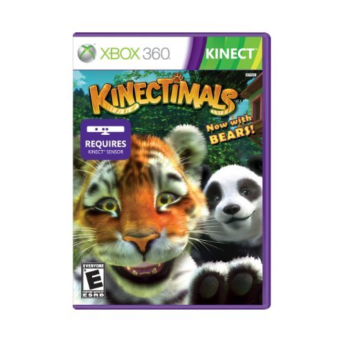 Xbox 360 Kinect Kinectimals & Bears Microsoft Corporation E