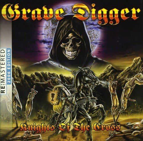 Grave Digger Knights Of The Cross Import Eu Remastered