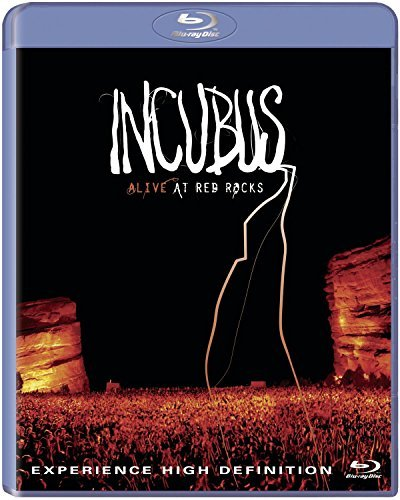 Incubus Alive At Red Rocks Blu Ray Incl. Bonus CD