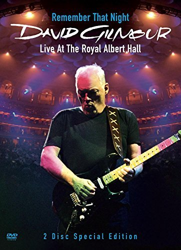 David Gilmour Remember That Night Live From Digipak Remember That Night Live From