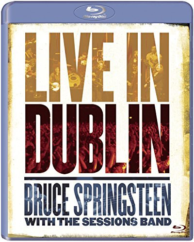 Bruce Springsteen Live In Dublin Blu Ray