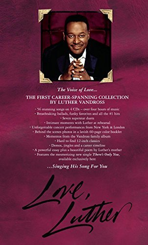 Luther Vandross Love Luther 4 CD