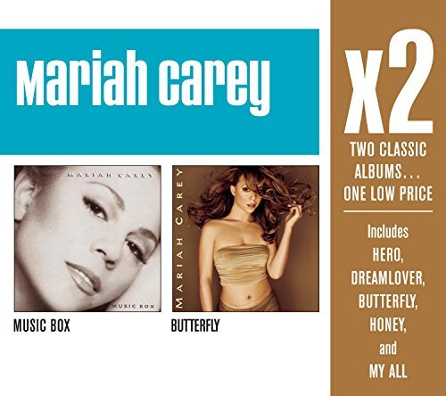 Mariah Carey X2 (music Box Butterfly) 2 CD Set