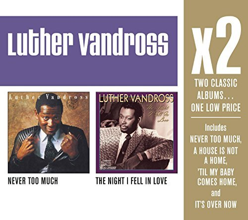 Luther Vandross X2 (never Too Much Night I Fel 2 CD Set