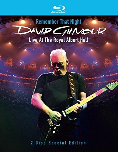 David Gilmour Remember That Night Live At T Clr Blu Ray Digipak
