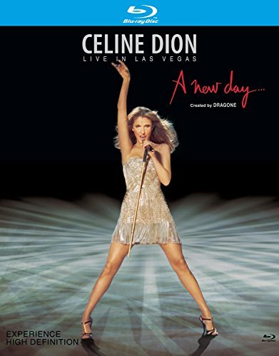 Celine Dion New Day Live In Las Vegas Ws Blu Ray