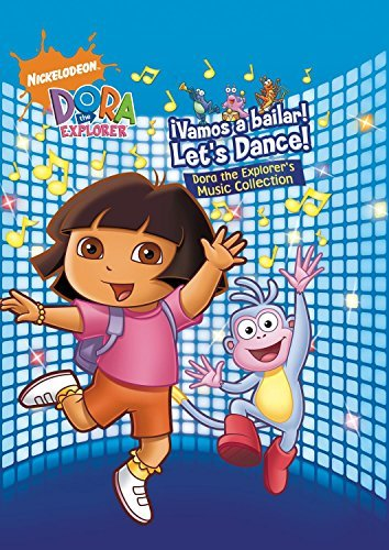 Dora The Explorer !vamos A Bailar! Let's Dance! 3 CD