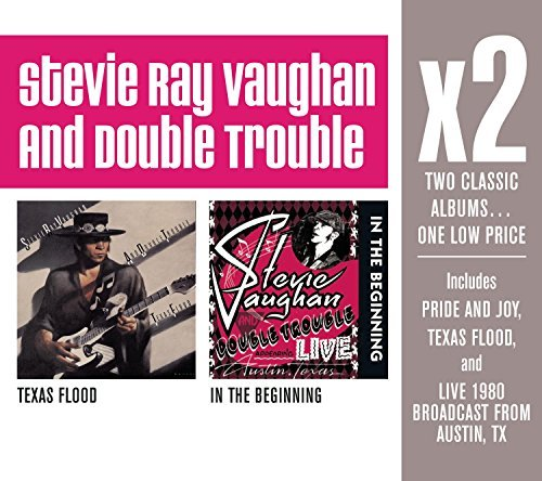 Stevie Ray Vaughan X2 (texas Flood In The Beginni 2 CD Set