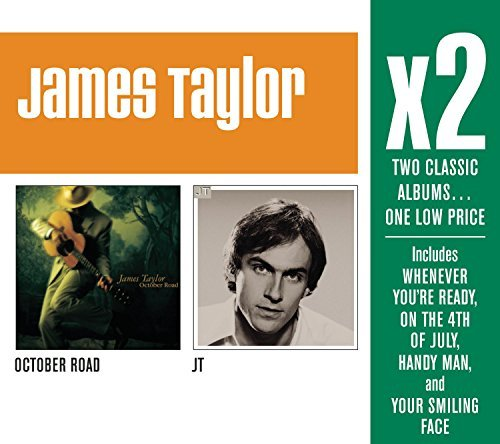 James Taylor X2 (october Road J.T.) 2 CD Set