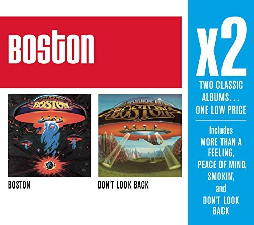 Boston X2 (boston Don't Look Back) 2 CD Set