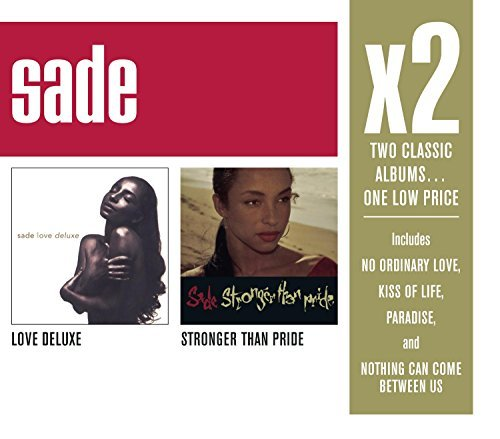 Sade X2 (love Deluxe Stronger Than 2 CD Set Slipcase