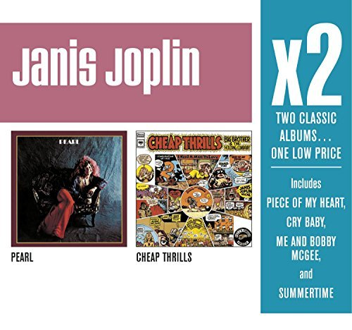 Janis Joplin X2 (pearl Cheap Thrills) 2 CD Set Slipcase