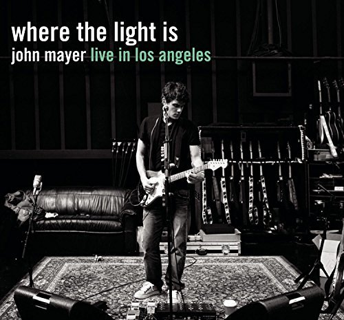 John Mayer Where The Light Is John Mayer 2 CD Set