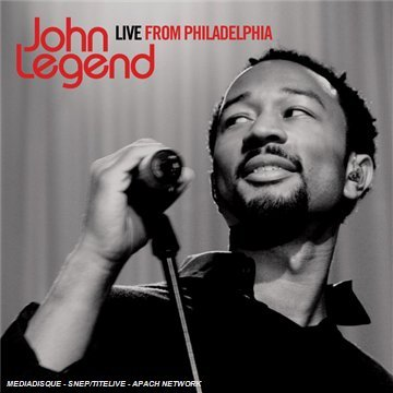 John Legend Live From Philadelphia Import Eu Incl. Bonus DVD Pal (0)