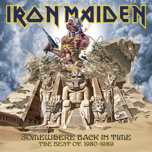 Iron Maiden Somewhere Back In Time Best O