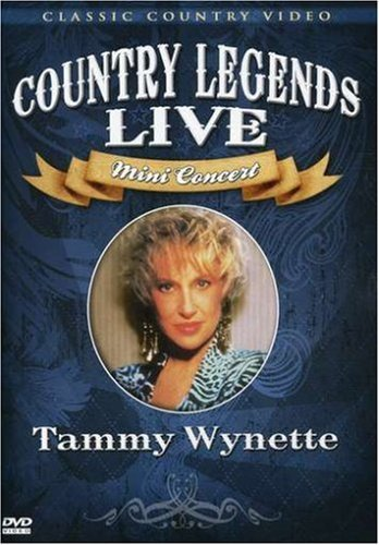 Tammy Wynette Country Legends Live Mini Cone