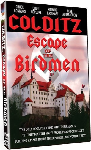 Colditz Escape Of The Birdmen Mcclure Basehart Connors Baer Nr