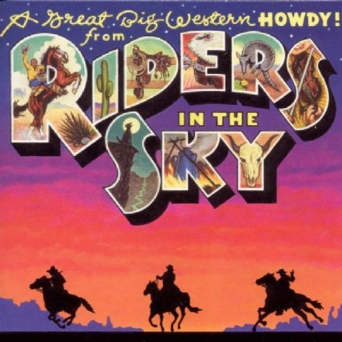 Riders In The Sky Great Big Western Howdy From R Hdcd